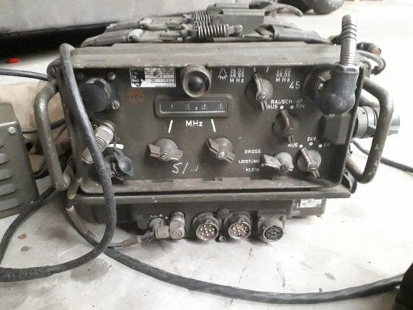 Combat havelte - nekaf m38a1 - willys - SEM35 radioset