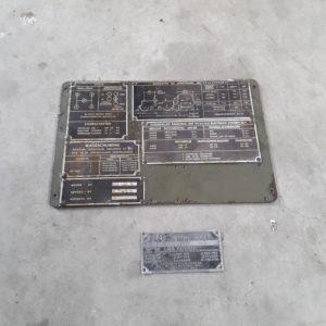 Combat havelte - nekaf m38a1 - willys - dashboard