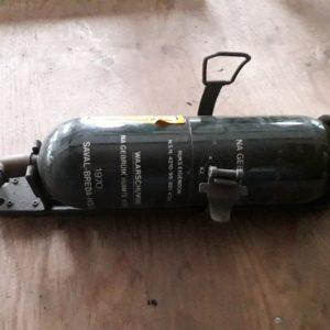 Combat havelte - Nekaf m38a1 - brandblusser