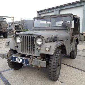 Combat havelte - nekaf m38a1 - willys