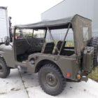 Combat havelte - nekaf m38a1 jeep 1960