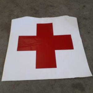 Rode kruis stickers