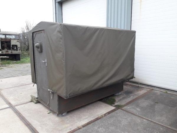 Combat havelte - 1 tons aanhanger opbouw