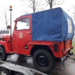 Combat havelte - Willys cj3b brandweer