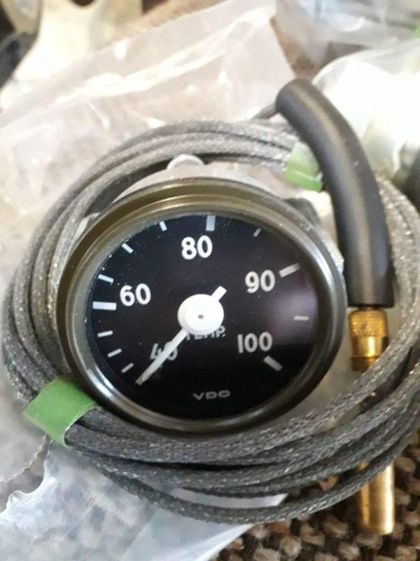 Combat havelte - Daf ya Temperatuur meter