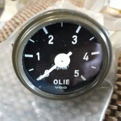 Combat havelte - Daf ya oliedruk meters
