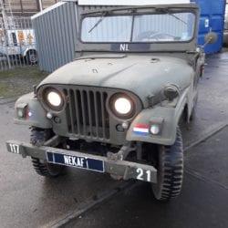 Combat havelte - Nekaf m38a1 jeep 1956