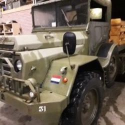 Combat havelte - Daf ya 126 - 1958