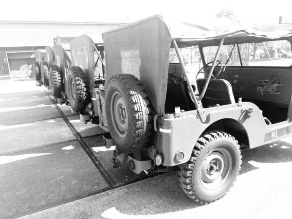 Doorlopend nieuw aanbod van Willys m38a1 Nekaf jeeps
