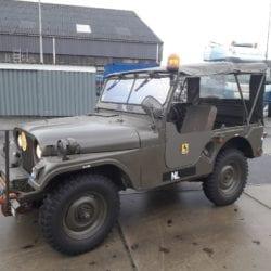 Combat havelte - Nekaf jeep uit 1956