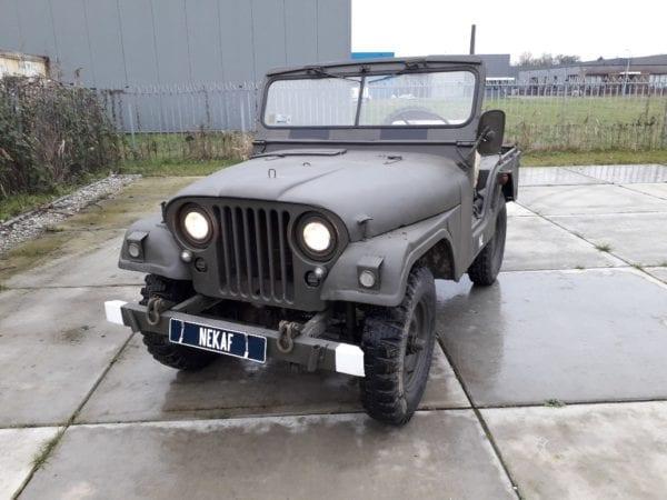 combat havelte - nekaf m38a1 jeep