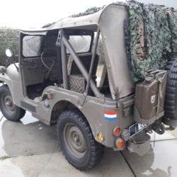 Nekaf m38a1 jeep - ex legervoertuig