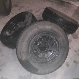 Nekaf - set dikke wielen