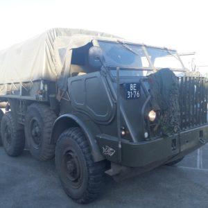 DAF YA 328 - artillerietrekker - combat havelte