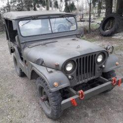 Nekaf m38a1 willys leger jeep te koop