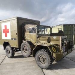 combat havelte - daf ya 126 ziekenauto