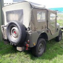 nekaf m38a1 leger jeep