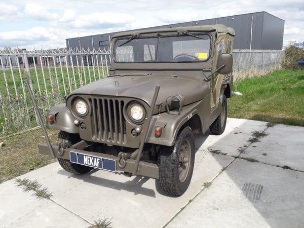 combat havelte - nekaf m38a1 leger jeep te koop