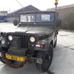 Nekaf m38a1 jeep uit 1958 Full Matching