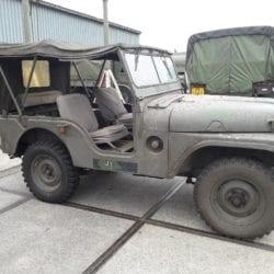 Nekaf m38a1 jeep uit 1957 1e eigenaar