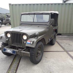 nekaf m38a1 jeep - combat havelte