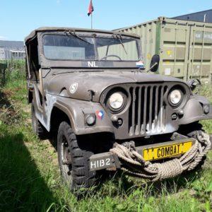 combat havelte - nekaf m38a1 leger jeep - te koop